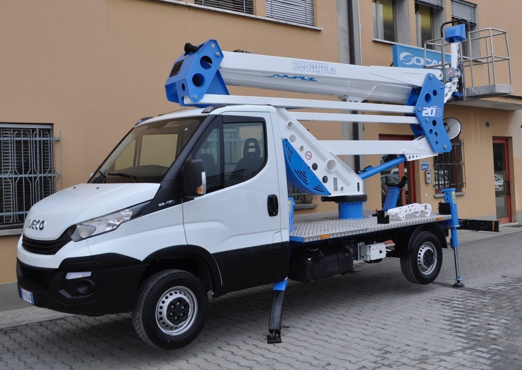 PIATTAFORMA IVECO DAILY SOCAGE SO-0022